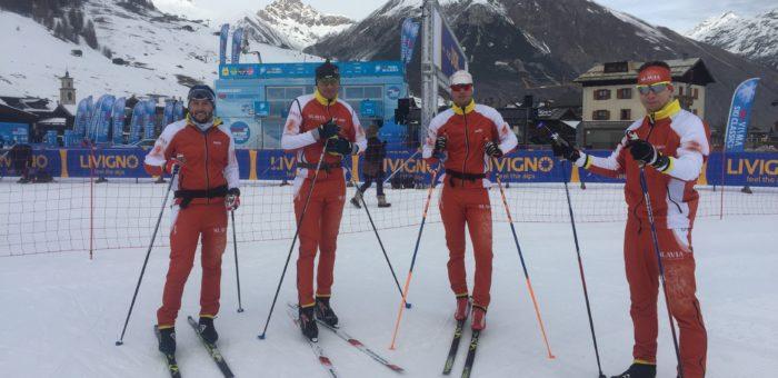 Už jen hodiny dělí Stanislava Řezáče a Slavia pojišťovna sport team od startu prvního ze závodů prestižního seriálu Visma Ski Classics