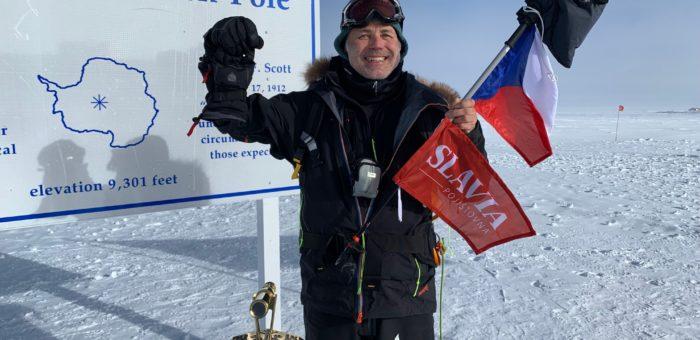 Pavel Sehnal za SPORT TEAM: Po dobytí jižního pólu je prvním Čechem, který zdolal na obou pólech Last Degree