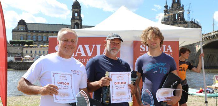 Vodácký maratón Water Tour 2019 z Prahy do Drážďan vyhrál Karel Martínek