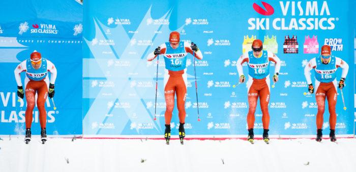 Slavia pojišťovna SPORT TEAM zbrojí na první podnik Visma Ski Classics 2019/2020