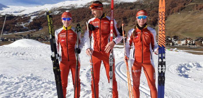 Příprava před startem sezóny Visma Ski Classics v plném proudu