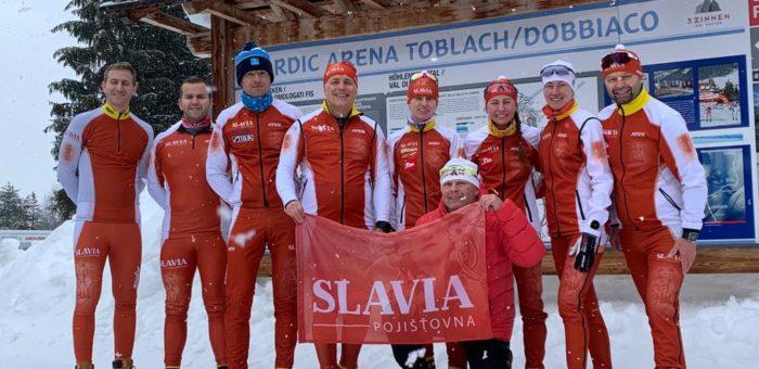 Závod Toblach-Cortina s naším týmem v plné síle!