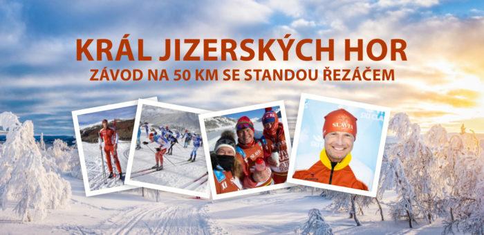 Staňte se Králem Jizerských hor v závodu na 50 km se Standou Řezáčem!